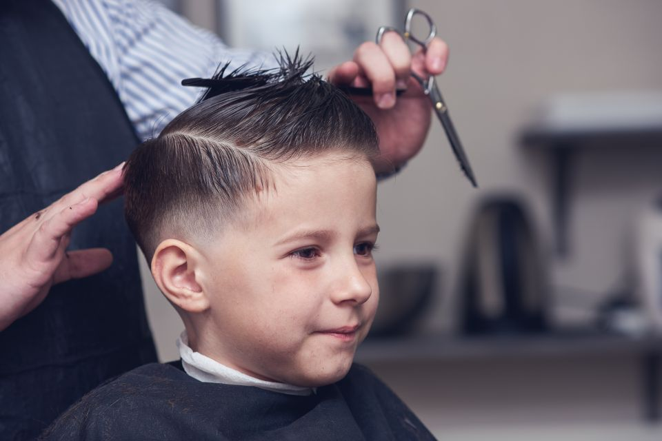 Children hair cut